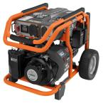 6,800-Watt Idle Down Gasoline Powered Electric Start Portable Generator with Yamaha MZ360