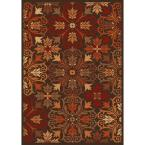 Madera Brown 7 ft. 10 in. x 10 ft. 10 in. Area Rug