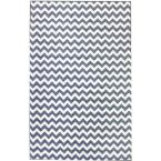 Charles Light Blue 3 ft. 10 in. x 5 ft. 7 in. Area Rug