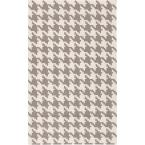 Annu Ivory 3 ft. 6 in. x 5 ft. 6 in. Flatweave Area Rug