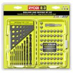 Black Oxide Drilling and Driving Bits (70-Piece) with Built-In Plastic Drill Gauge