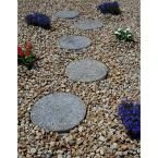 16 in. x 1.5 in. Round Exposed Aggregate Pathway Stepstone