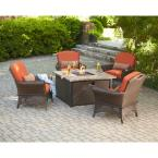 Rosemarket 5-Piece Patio Fire Pit Set