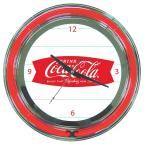 14 in. Coca Cola Refreshing Feeling Neon Wall Clock