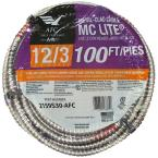 12/3 x 100 ft. Stranded MC Lite Cable