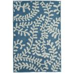Fiona Denim Polyester 8 ft. x 10 ft. Area Rug
