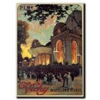 35 in. x 47 in. Vichy Canvas Art