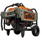 6,500-Watt Gasoline Powered Electric Start Portable Generator Heavy-Duty Professional Grade CARB Approved