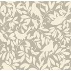 56 sq. ft. Waverly Cottage Birdsong Wallpaper