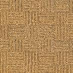 Natural Basket Weave 1/2 in. Thick x 11-3/4 in. Wide x 35-1/2 in. Length Cork Flooring (23.17 sq.ft./case)