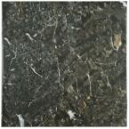 Donna Nero 17-3/4 in. x 17-3/4 in. Ceramic Floor and Wall Tile (15.75 sq. ft. / case)