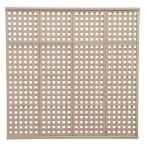 1.5 in. x 78.5 in. x 6.45 ft. Four High Privacy Lattice Panel