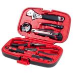 Multipurpose Car and Office Black Tool Kit (9-Piece)