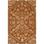 Bellview Rust 4 ft. x 6 ft. Indoor Area Rug