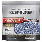 1 lb. Gray Decorative Color Chips (6-Pack)