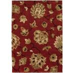 Como Rouge 7 ft. 10 in. x 10 ft. 10 in. Area rug