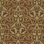 Cayenne Scroll Outdoor Fabric By The Yard