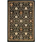 Amber Black 6 ft. 7 in. x 9 ft. 8 in. Area Rug
