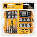 Screwdriving Bit Set, 45 Piece