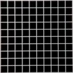 9.125 in. x 9.125 in. Magic Gel Decorative Wall Tile in Black Onyx Mosaic