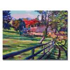 18 in. x 24 in. Country House Canvas Art