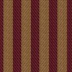 56 sq. ft. Claret And Gold Woven Stripe Wallpaper