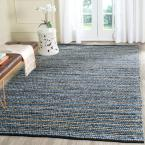 Cape Cod Blue/Natural 4 ft. x 6 ft. Area Rug