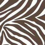 13 in. x 13 in. Brown and White Animal Instinct Blocks Wall Decal