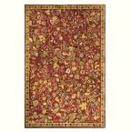 Bristol Red 3 ft. 6 in. x 5 ft. 6 in. Area Rug