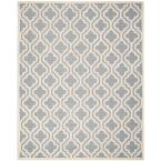 Cambridge Silver/Ivory 10 ft. x 14 ft. Area Rug