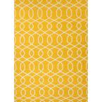 Yuma Old Gold 5 ft. x 8 ft. Geometric Area Rug