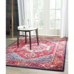 Monaco Red/Turquoise 11 ft. x 15 ft. Area Rug