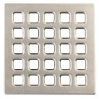 4 in. Brushed Nickel Professional Grate Kit Assembly