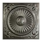 Toronto 2 ft. x 2 ft. Lay-in Tin Ceiling Tile in Argento