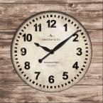 Weathered Square Wall Clock