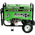 Energy Storm 4,000-Watt 211cc Gasoline Powered Electric Start Portable Generator with Voltage Selector Switch