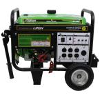 Energy Storm 4,000-Watt 211cc 7 MHP Gasoline Powered Electric Start Portable Generator with Wheel Kit