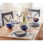 Home Decorators Collection Home Decorators Collection Blue Dinnerware Sets