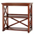 Brexley Chestnut 2-Shelf Bookcase