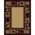 Northern Territory Red 9 ft. 2 in. x 12 ft. 5 in. Area Rug