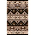 Dillon Black 5 ft. x 7 ft. 9 in. Area Rug