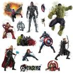 5 in. x 11.5 in. Avengers Age of Ultron Peel and Stick Wall Decal