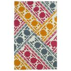 Glam Multi 9 ft. x 12 ft. Area Rug