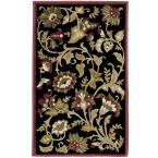 Devore Black 1 ft. 11 in. x 3 ft. 3 in. Accent Rug