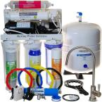 LittleWell WQA Gold Seal 6-Stage 75 GPD Reverse Osmosis Water Filter System with Real (Not Permeate) Booster Pump
