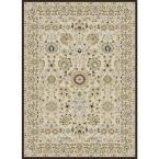 Ivanna Cream 5 ft. 2 in. x 7 ft. 3 in. Area Rug