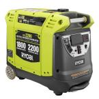 2,200-Watt Green Gasoline Powered Digital Inverter Generator