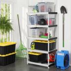 HDX Plastic Storage Shelving Collection
