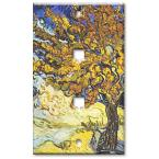 Van Gogh: Mulberry Tree - Double Cat 5 Wall Plate