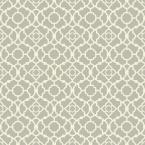 56 sq. ft. Waverly Small Prints Lovely Lattice Wallpaper